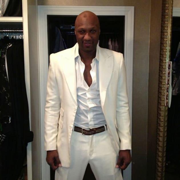 Lamar Odom Twit Pic