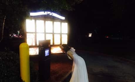 Drunk Bride at Taco Bell