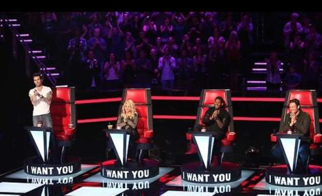 The Voice Coaches Season 4