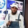 Chris Brown in a Cap