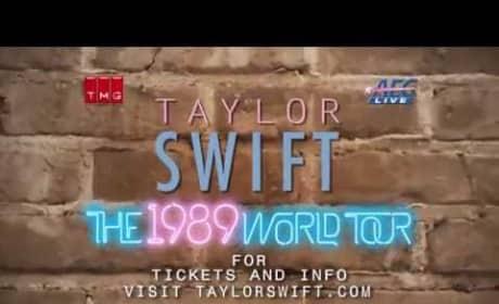 Taylor Swift Tour Announcement