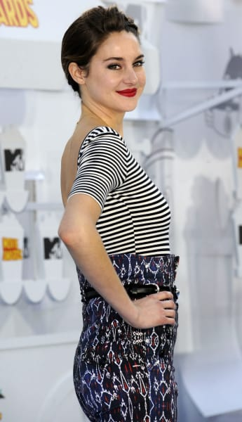 Shailene Woodley at 2015 MTV Movie Awards