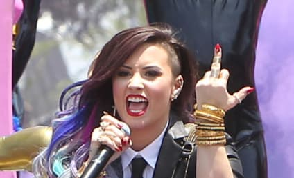 Demi Lovato Performs at Gay Pride Parade, Flips Off Haters
