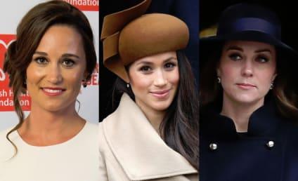Kate & Pippa Middleton: Feuding Over Meghan Markle?!