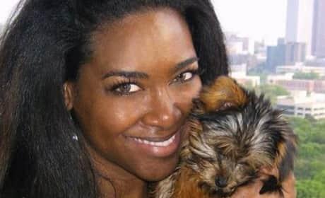 Kenya Moore: Did She Fake Dog's Death?