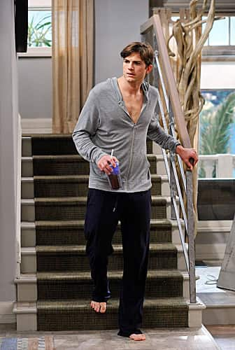 Ashton Kutcher on Two and a Half Men