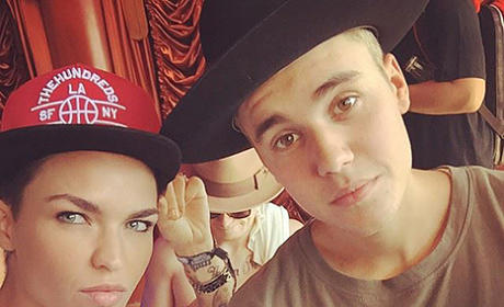 Justin Bieber and Ruby Rose