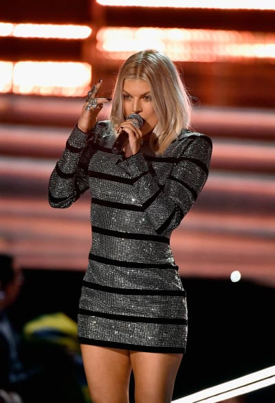 Fergie at Miss Universe