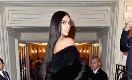 It's Kim Kardashian