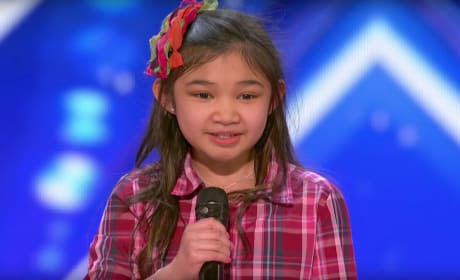 Angelica Hale Performs on America's Got Talent