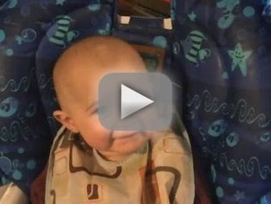 Baby Reacts to Mother Singing