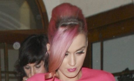 Katy Perry, Short Pink Hair