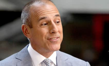 Today Show Turmoil: Matt Lauer vs. Lester Holt!
