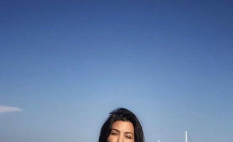 Kourtney Kardashian on a Trip