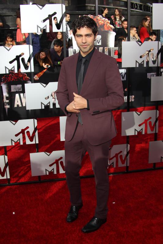 Adrian Grenier at MTV Movie Awards