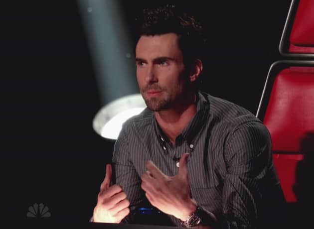 Adam Levine on The Voice