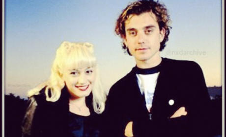 Gwen Stefani and Gavin Rossdale Throwback Photo