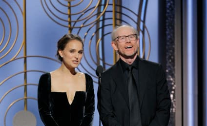 "Natalie Portman Heroically Derides ""All-Male"" Nominees at Golden Globes!"