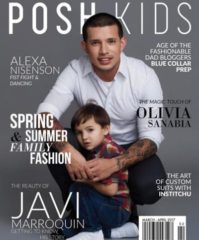 Javi Marroquin Magazine Cover