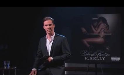 Benedict Cumberbatch Reads R. Kelly Lyrics, Totally Genius