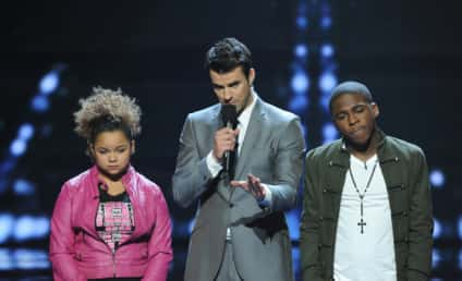 The X Factor Results Show: Down to Four...