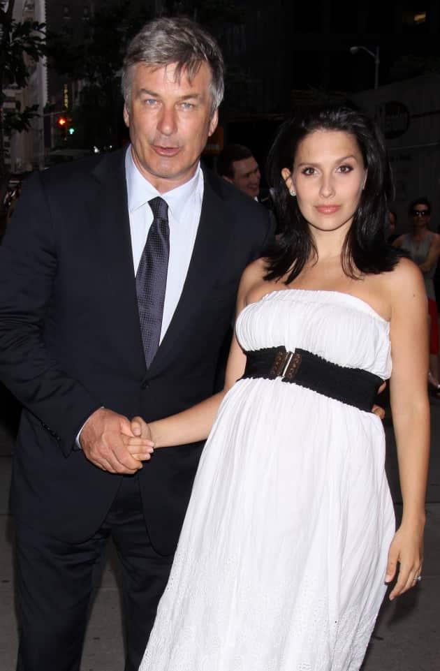 Alec Baldwin, Wife Photo