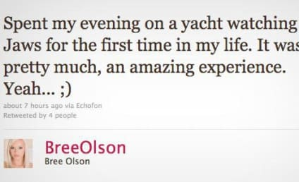 Bree Olson Parties with Charlie Sheen
