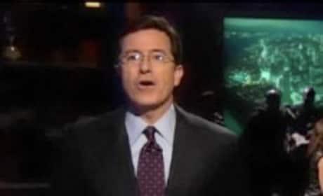 Stephen Colbert Raps