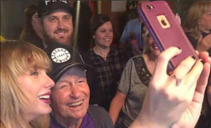 Taylor Swift Shocks 96-Year Old Vet, Is So Totally Awesome
