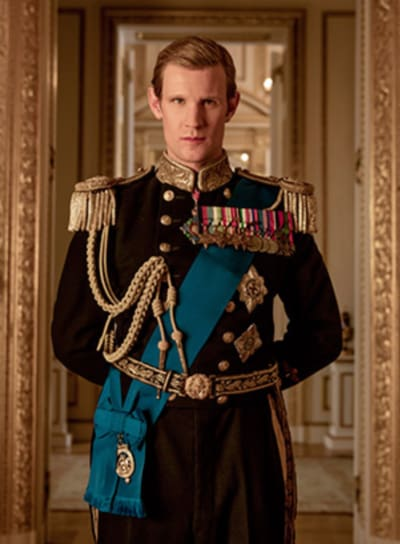 Matt Smith as Prince Philip