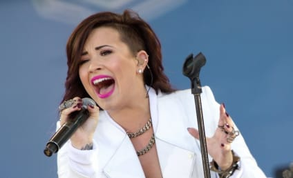Demi Lovato Performs on Good Morning America, Welcomes Special Guest