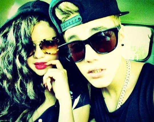 Justin Bieber, Selena Gomez Instagram Photo