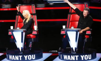 Blake Shelton: Furious Christina Aguilera Replaced Gwen Stefani on The Voice?