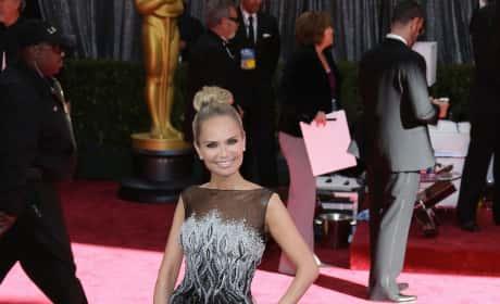 Kristin Chenoweth Oscars Dress