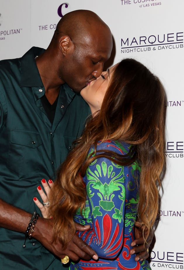 Khloe and Lamar on the Red Carpet