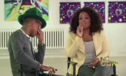 Pharrell Cries 'Happy' Tears with Oprah Winfrey