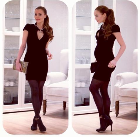 Caroline Berg Eriksen's Tiny 9 Month Baby Bump