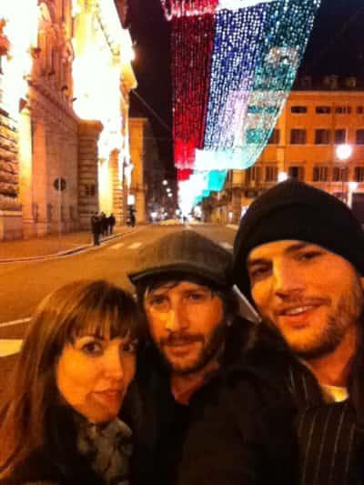 Ashton Kutcher and Lorene Scafaria