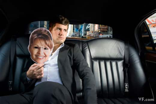 Levi Johnston and Sarah Palin Photo