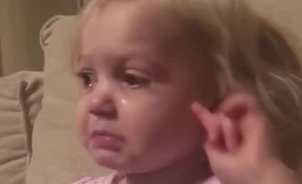 Little Girl Cries Over Pixar Movie, Elicits ALL the Feels