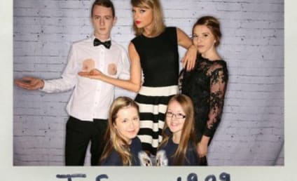 Taylor Swift Shows Off Fan's Nipples: See the Weird Pic!