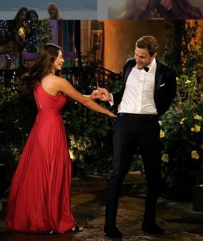 Kelley Flanagan, Peter Weber on The Bachelor