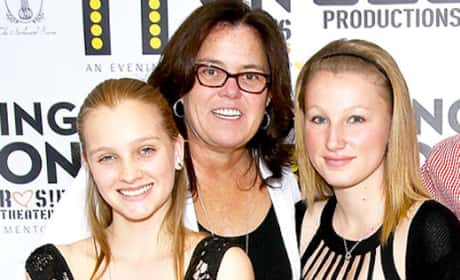 Rosie and Chelsea O'Donnell