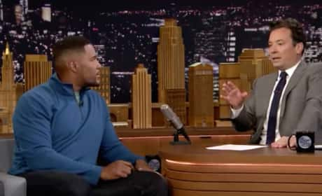 Michael Strahan on The Tonight Show