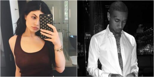 Kylie Jenner and Tyga Instagram Split