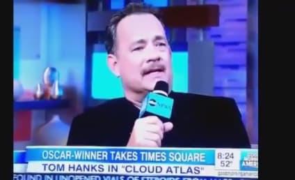 Tom Hanks Drops F-Bomb on Good Morning America
