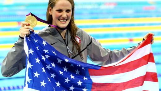 Champion Swimmer