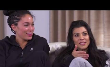 """The Kardashians Play """"Would You Rather…"""""""