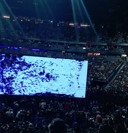 Janelle Brown shares U2 concert pic