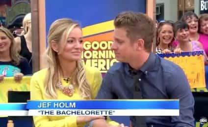 Emily Maynard and Jef Holm on Good Morning America: We Are SO Happy!